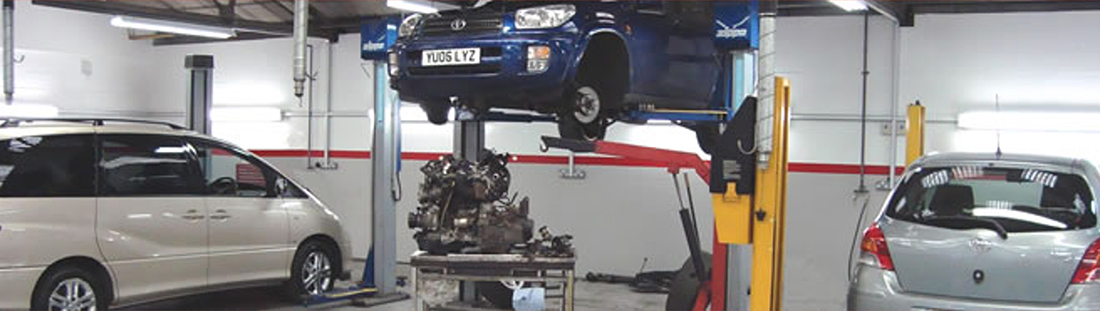 Toyota Motest More Than Mot Testing